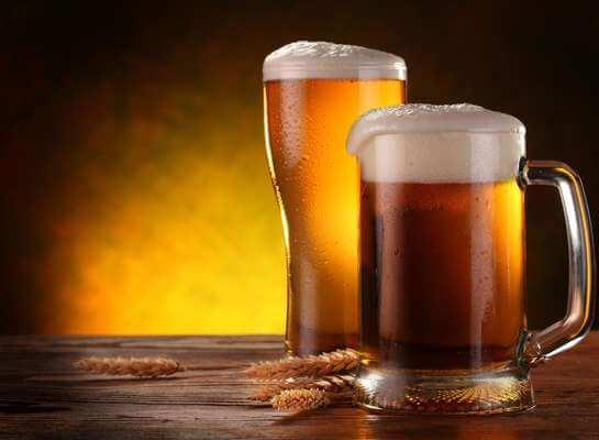 Hidratação com cerveja