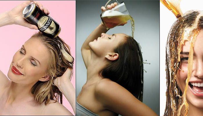 Hidratação com cerveja óptima para os cabelos