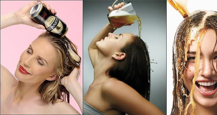 Hidratação com cerveja óptima para os cabelos 1