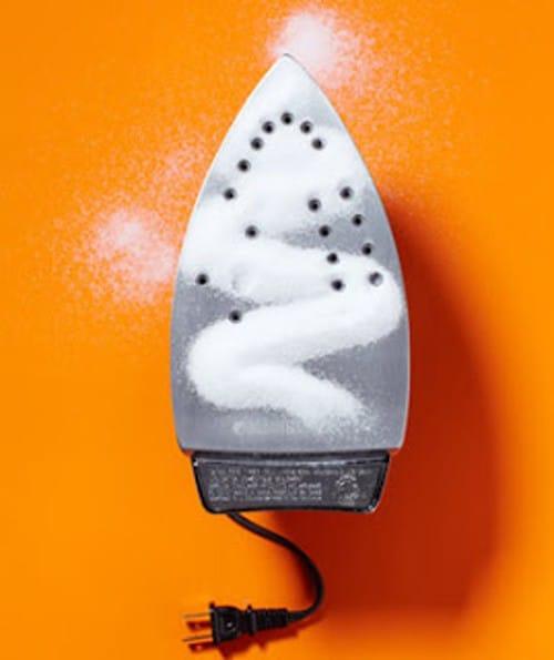 Como limpar ferro de engomar 1