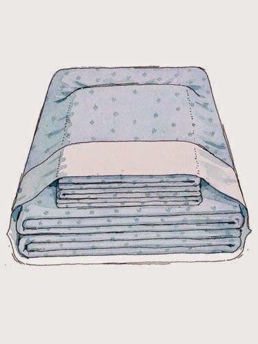 A melhor forma de guardar os lençóis 2