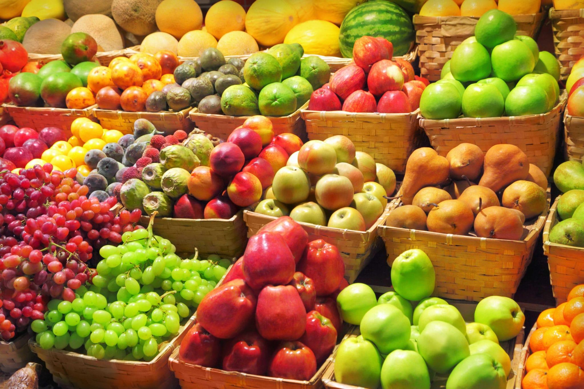 Sabe como escolher frutas ? 1
