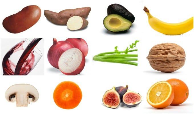 As semelhanças dos alimentos com órgãos do corpo