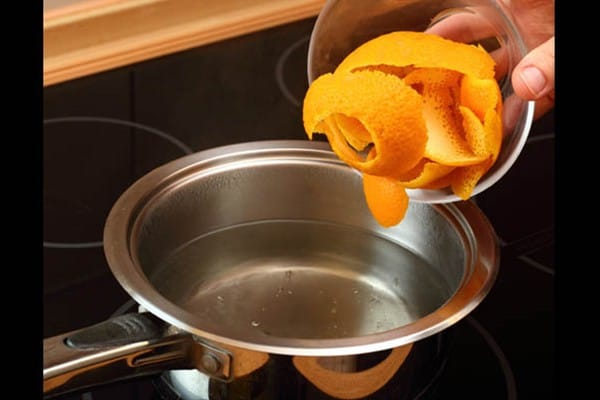 Como eliminar o cheiro de gordura da cozinha 1