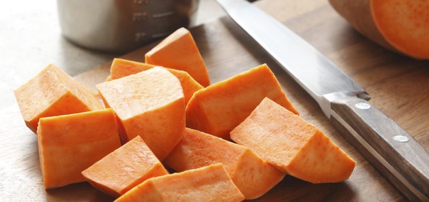 Como cozinhar batata doce 1