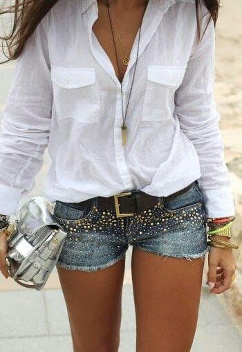 Tenha sempre uma camisa branca no seu guarda roupa