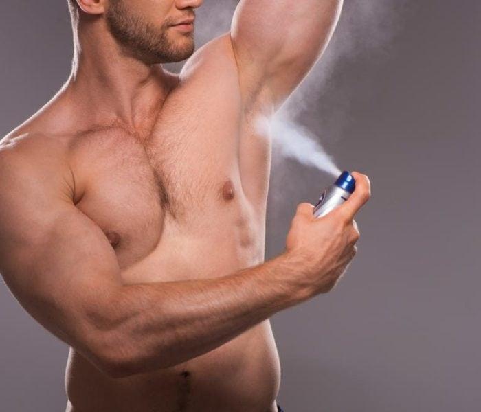 Erros comuns ao usar desodorizante