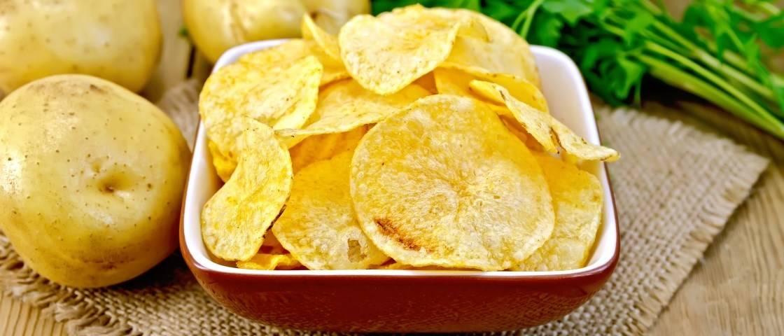 Batatas fritas no micro-ondas 1