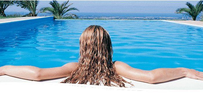 Proteja o cabelo do cloro