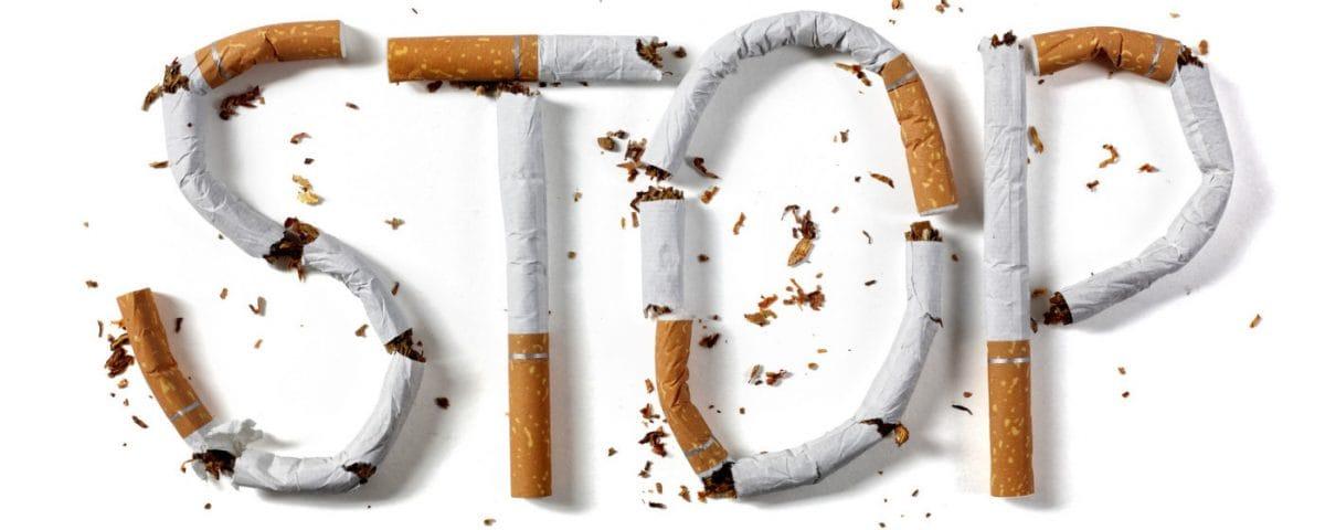 Deixar de fumar depois de 20 anos da fumagem