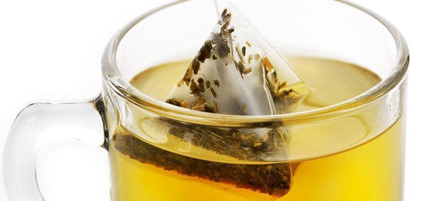 Saquetas de chá verde 1