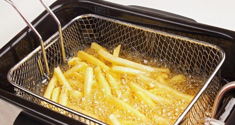 batatas fritas estaladiças