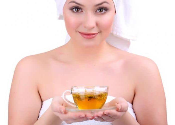 Chá de camomila para poros abertos