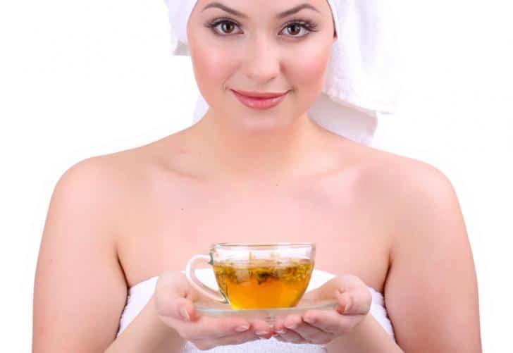 Chá de camomila para poros abertos 1