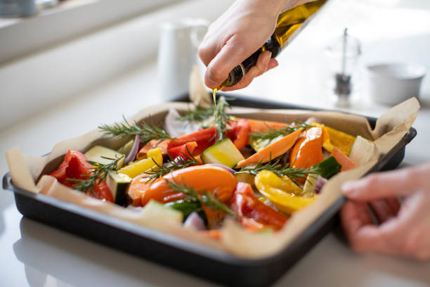 Como assar legumes 1