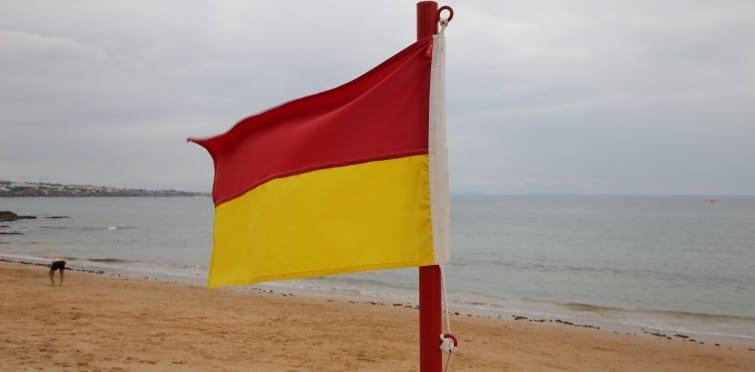 Nova bandeira de sinalização nas praias 1