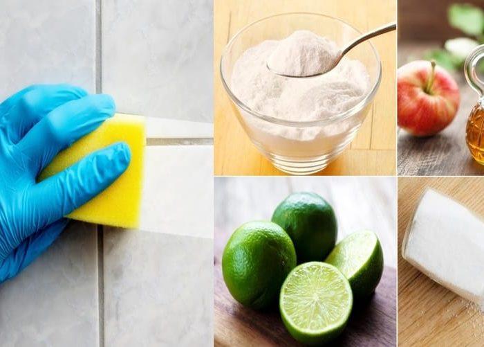 Produtos naturais para limpar a sua casa