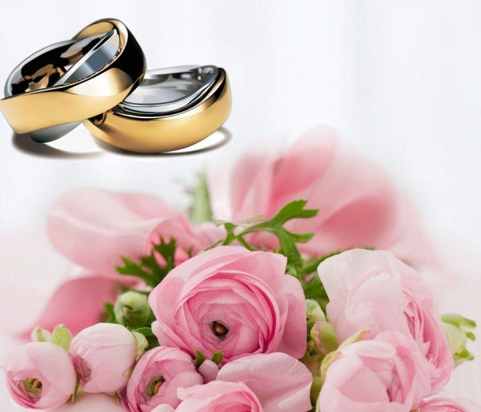A escolha das flores para o casamento