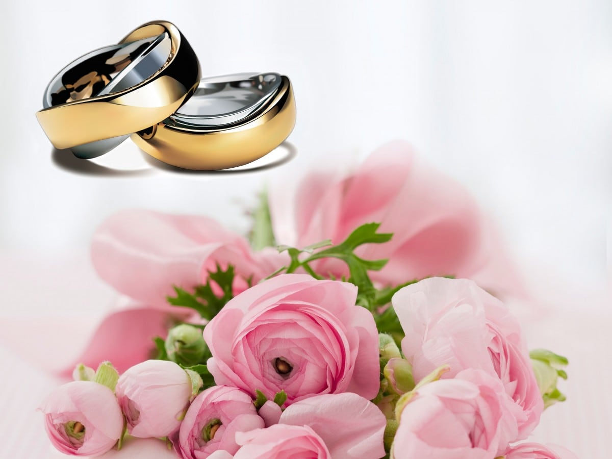 A escolha das flores para o casamento 1