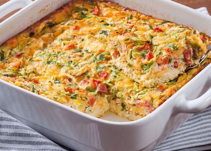 Receita de Omelete de forno com atum