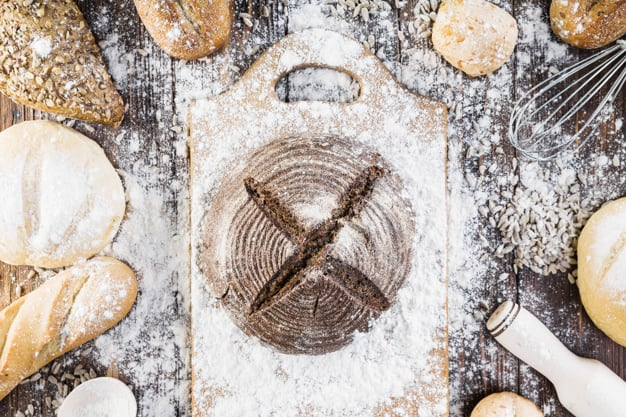 Conheça os diferentes tipos de farinha