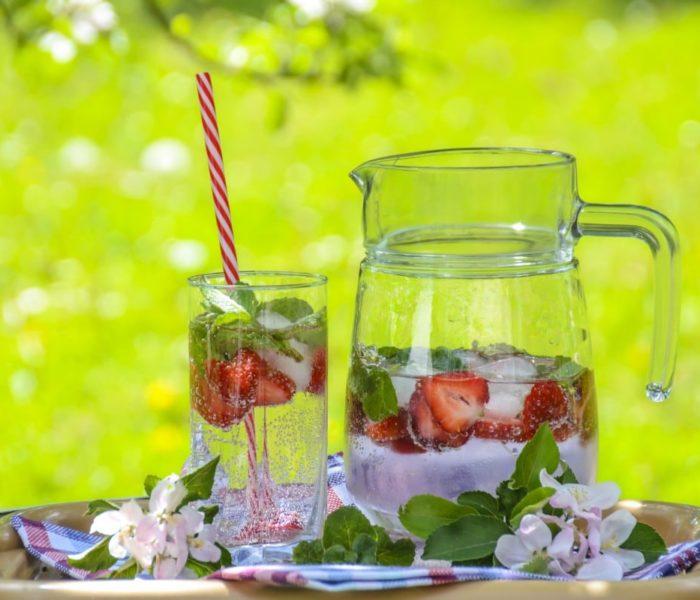 Receitas de chás gelados saborosas e refrescantes