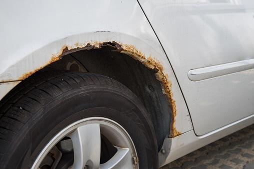 Ferrugem automóvel como eliminar
