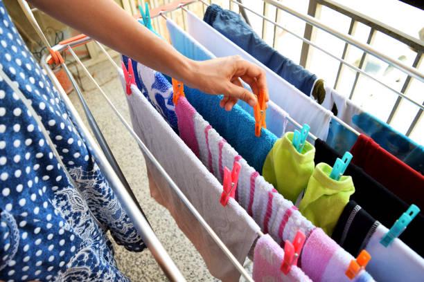 Como secar as roupas no Inverno 2